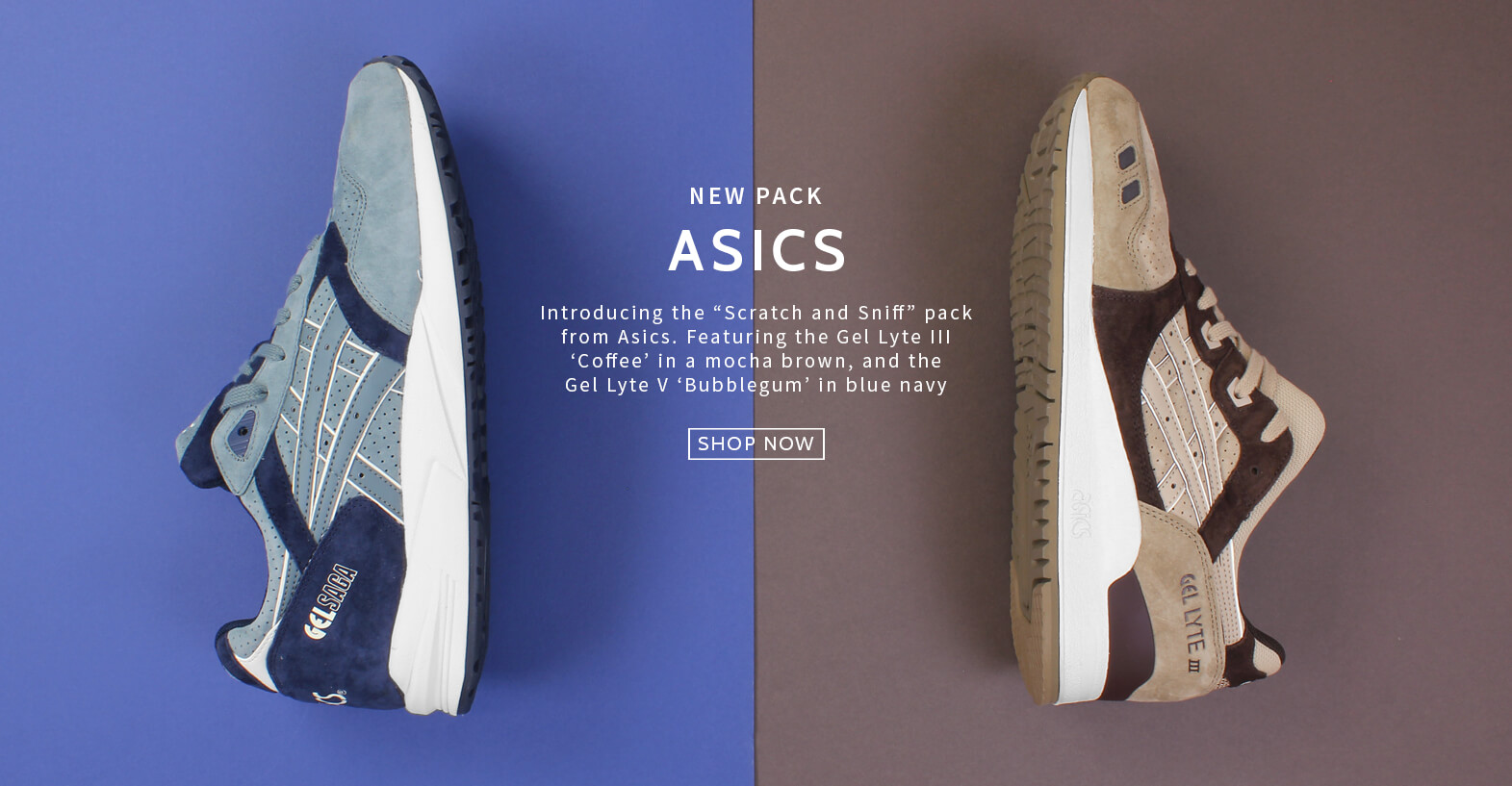 Asics scratch and sniff