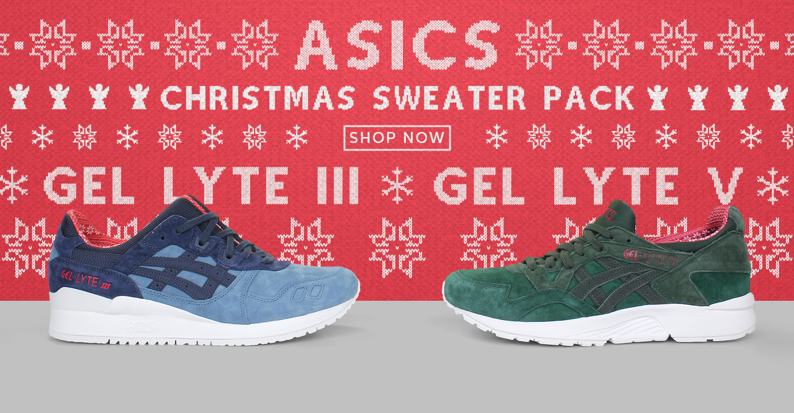 ASICS SWEATER PACK SHOP NOW