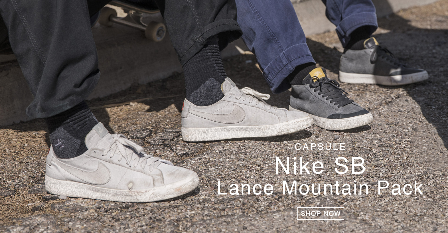 LANCE MOUNTAIN PACK INCOMING