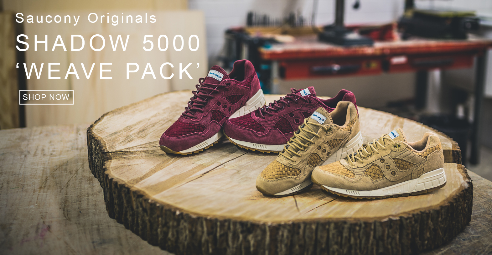 SAUCONY WEAVE PACK SHOP NOW