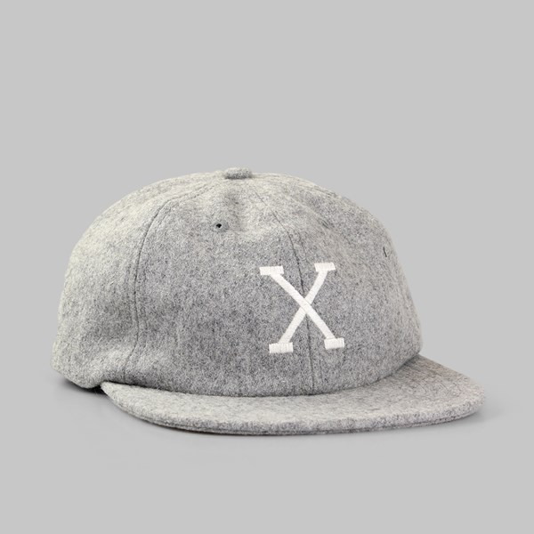 10 DEEP STRAIGHT RAZOR SNAPBACK GREY