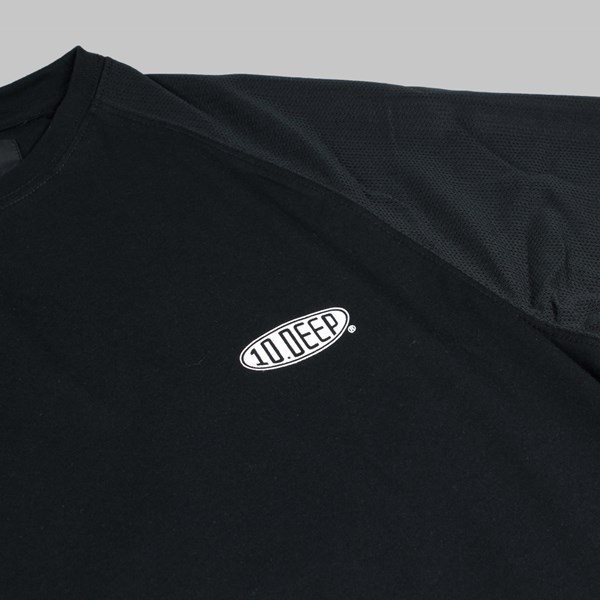 10DEEP BREEZY 3/4 SLEEVE RAGLAN BLACK