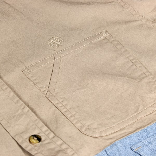 10DEEP HIGH LOW LS SHIRT SAND