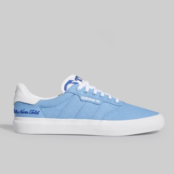 ADIDAS 3MC X TRUTH NEVER TOLD LIGHT BLUE WHITE