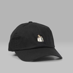 40'S & SHORTIES BIGGIE DAD CAP BLACK