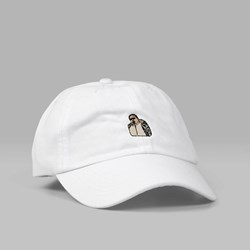 40'S & SHORTIES BIGGIE DAD CAP WHITE
