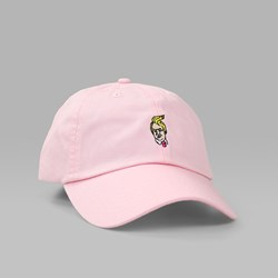 40'S & SHORTIES COMB OVER UNSTRUCTURED CAP PINK