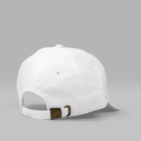 40'S & SHORTIES DONALD DAD CAP WHITE