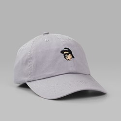40'S & SHORTIES EAZY E UNSTRUCTURED CAP GREY