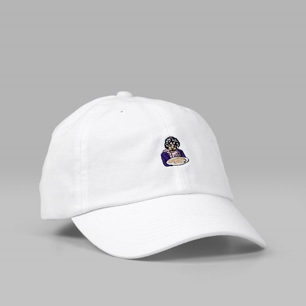 40'S & SHORTIES PRINCE DAD CAP WHITE