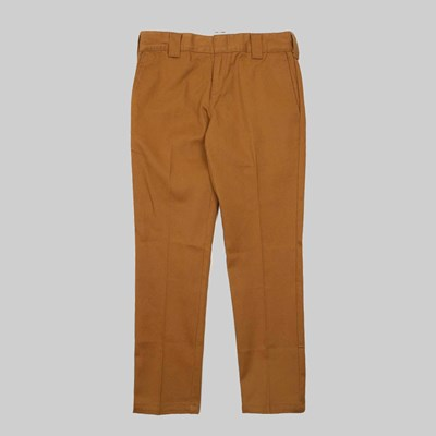 DICKIES 872 SLIM FIT WORK PANT BROWN DUCK