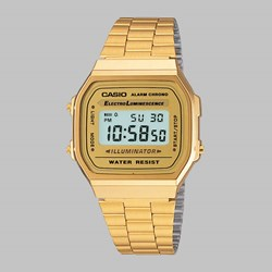 CASIO WATCH A168WG-9EF GOLD GOLD