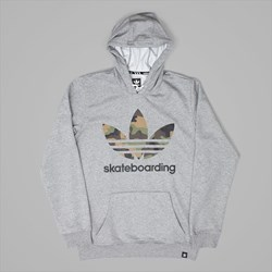 ADIDAS 3.0 CAMO HOODIE CORE HEATHER GREY