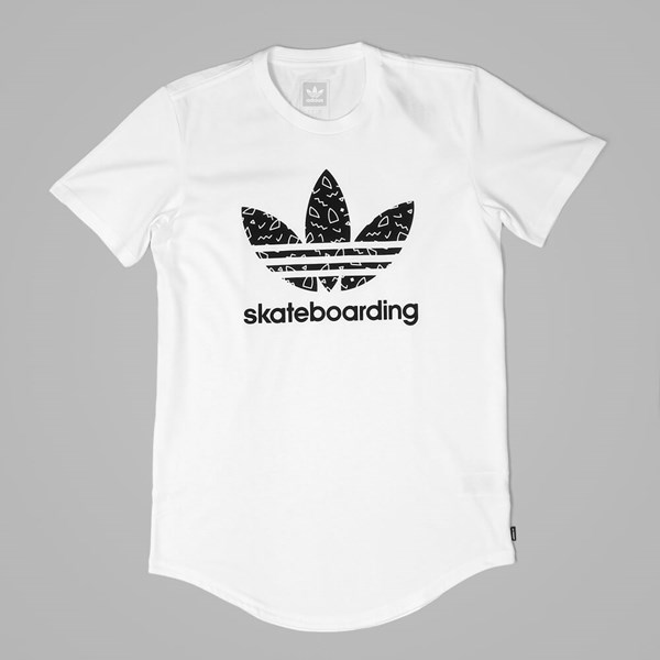 ADIDAS 3.0 SCATTER TEE WHITE BLACK