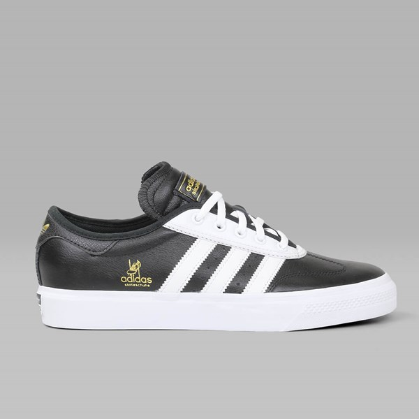 ADIDAS ADI EASE UNIVERSAL LEATHER BLACK WHITE