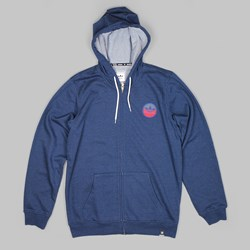 ADIDAS ADV TEAM ZIP HOOD OXFORD BLUE