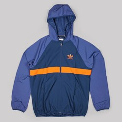 ADIDAS ADV WIND JACKET BLUE ORANGE