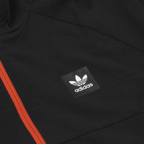 ADIDAS AEROTECH WINDBREAKER BLACK BLACK HEATHER