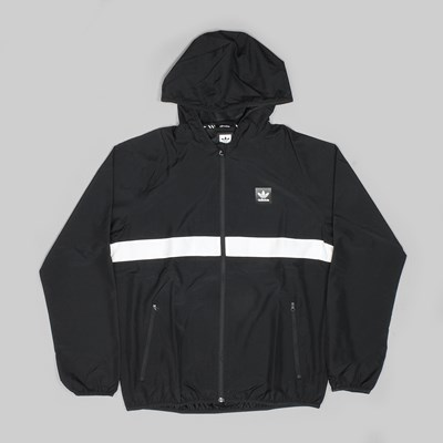 ADIDAS BB WIND JACKET BLACK WHITE