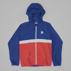 ADIDAS BB WIND JACKET MYSTERY BLUE RED