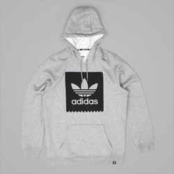 ADIDAS BLACKBIRD PO HOODY CORE HEATHER GREY