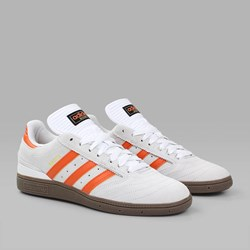 ADIDAS BUSENITZ CRYSTAL WHITE CRAFT ORANGE GUM