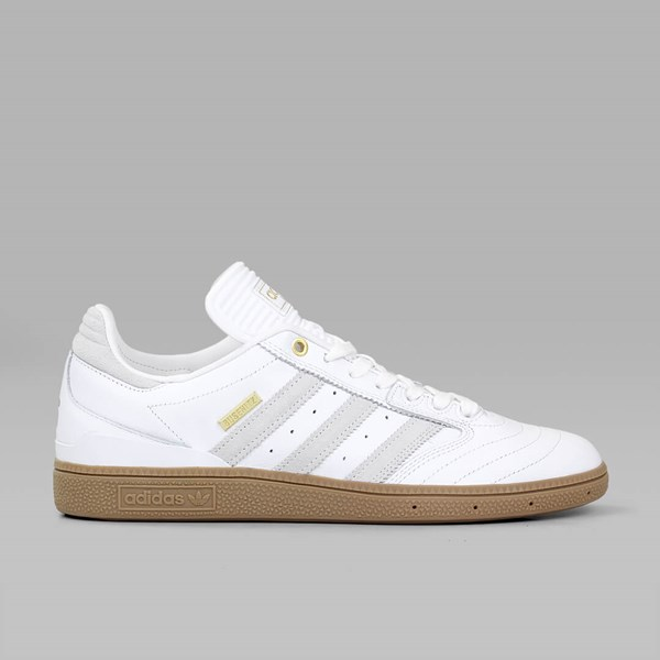 sale retailer ea751 85bb0 ADIDAS BUSENITZ PRO 10 YR ANNIV WHITE GOLD MET