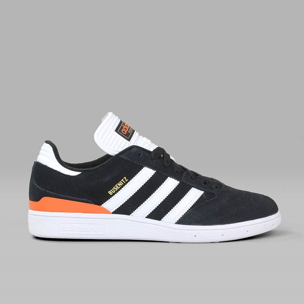 new concept 91e35 66886 ADIDAS BUSENITZ PRO BLACK WHITE CRAFT ORANGE