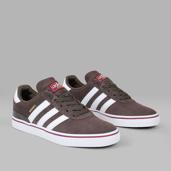 ADIDAS BUSENITZ VULC ADV BROWN WHITE BURGUNDY