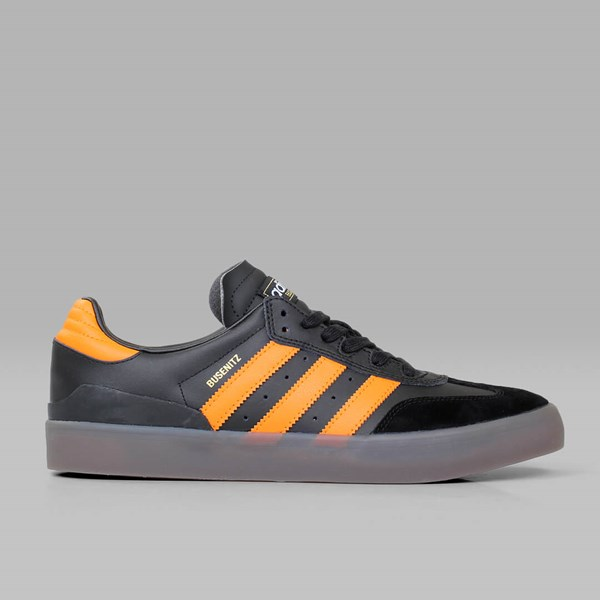ADIDAS BUSENITZ VULC SAMBA BLACK NATURAL ORANGE