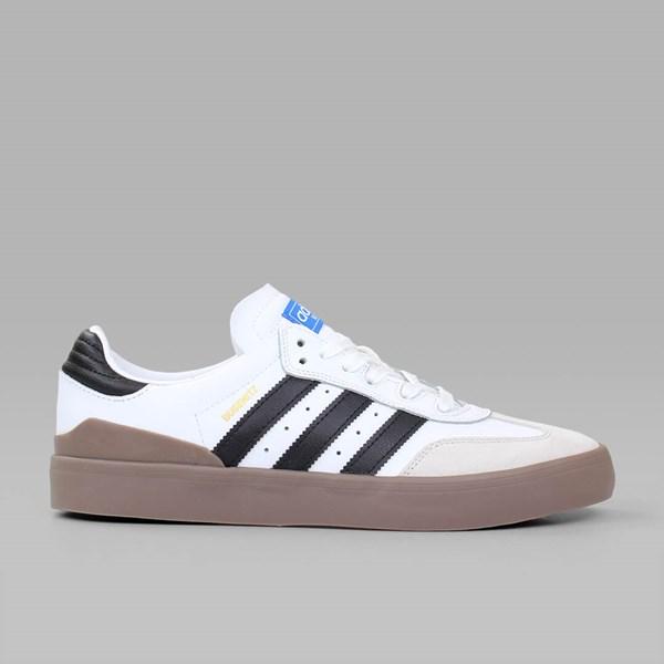 ADIDAS BUSENITZ VULC SAMBA WHITE BLACK BLUEBIRD | Adidas Skateboarding  Footwear