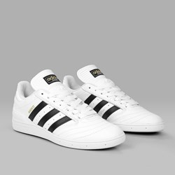 ADIDAS BUSENITZ WHITE CORE BLACK GOLD MET