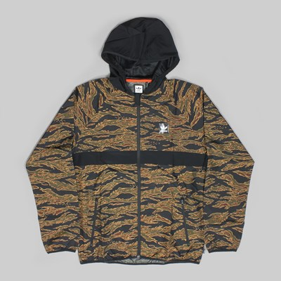 ADIDAS CAMO BB PACKABLE JACKET CAMO BLACK