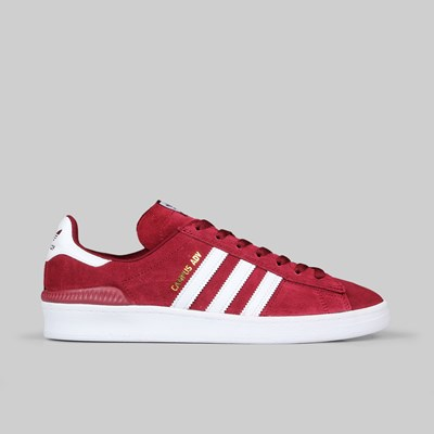 ADIDAS CAMPUS ADV COLLEGIATE BURGUNDY WHITE