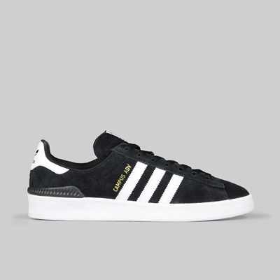 ADIDAS CAMPUS ADV CORE BLACK FOOTWEAR WHITE