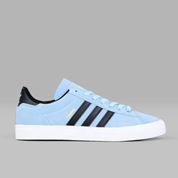 ADIDAS CAMPUS VULC II ADV SUPPLIER COLOUR BLACK