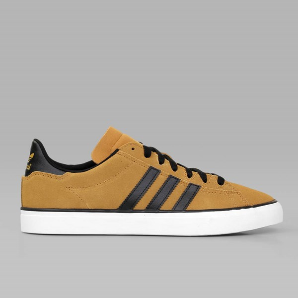 ADIDAS CAMPUS VULC II MESA CORE BLACK WHITE