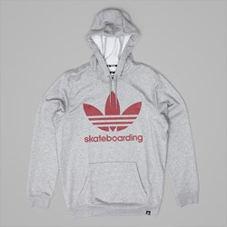 ADIDAS CLIMA 3.0 PO HOODY CORE HEATHER RED