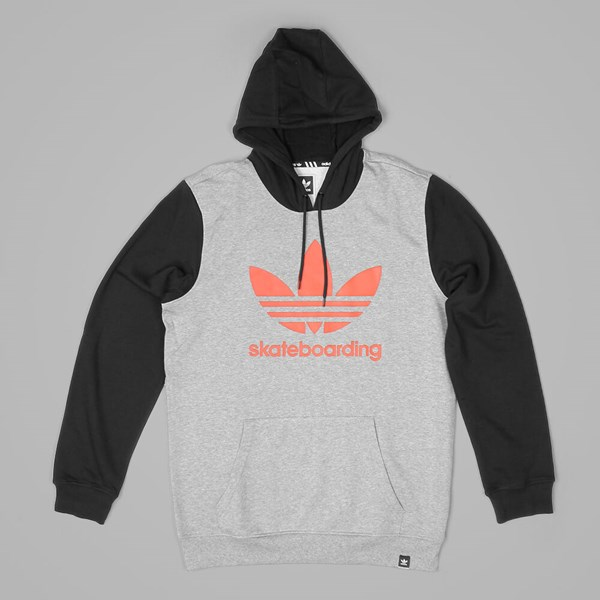 ADIDAS CLIMA 3.0 SOL HOOD HEATHER BLACK