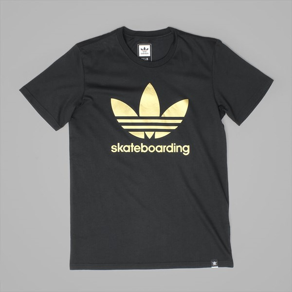 ADIDAS CLIMA 3.0 SOLID SS TEE BLACK GOLD