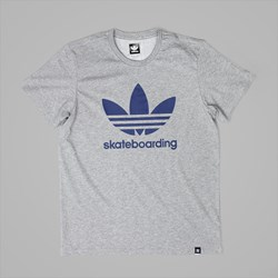 ADIDAS CLIMA 3.0 T-SHIRT HEATHER MYSTERY BLUE