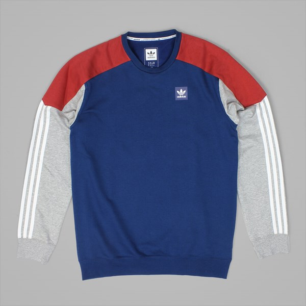 ADIDAS CLIMA NAUTICAL CREW MYSTERY RED BLUE