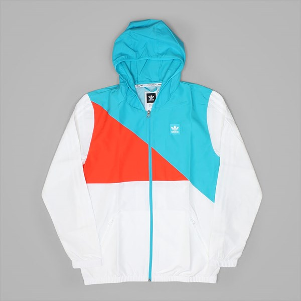 ADIDAS COURTS SPEC JACKET WHITE ENERGY BLUE