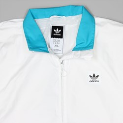 ADIDAS COURTSIDE JACKET WHITE ENERGY BLUE