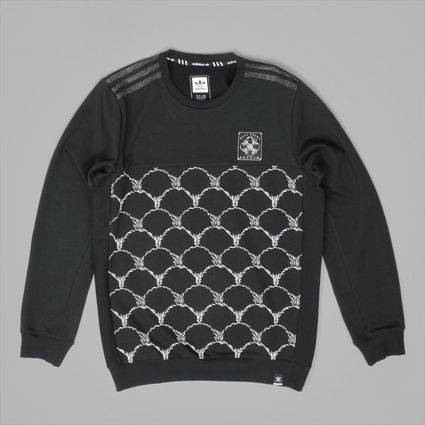 ADIDAS DKLEIN CREW NECK SWEAT BLACK