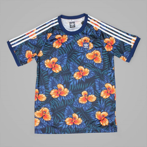 ADIDAS FLORAL JERSEY MULTICOLOUR