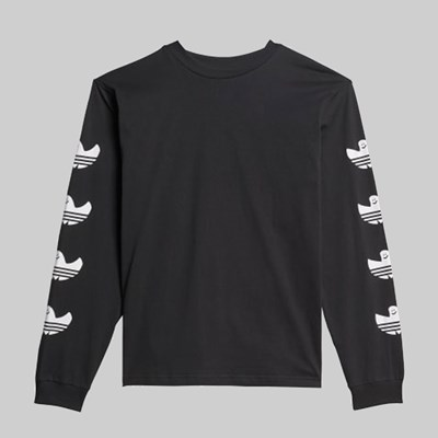 ADIDAS G SHMOO LONG SLEEVE TEE BLACK