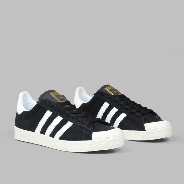 ADIDAS HALF SHELL VULC ADV CORE BLACK CHALK WHITE