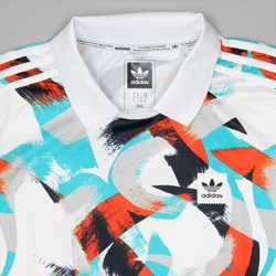 ADIDAS JERSEY COURTSIDE WHITE ENERGY BLUE