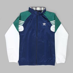 ADIDAS LIGHTWEIGHT ZIP TRACK JACKET NIGHT INDIGO